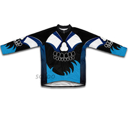 Midnight Bite Winter Thermal Cycling Jersey