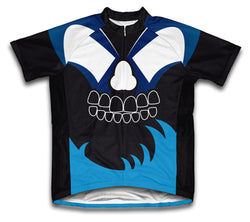 Midnight Bite Short Sleeve Cycling Jersey for Men and Women