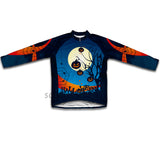 Midnight Creeps Winter Thermal Cycling Jersey
