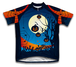 Midnight Creeps Short Sleeve Cycling Jersey for Men and Women