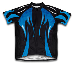 Midnight Waters Short Sleeve Cycling Jersey for Men and Women