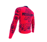 ScudoPro Pro Thermal Long Sleeve Cycling Jersey Mississippi USA state Icon landmark identity  | Men and Women