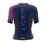 Mode On Purple Short Sleeve Cycling PRO Jersey