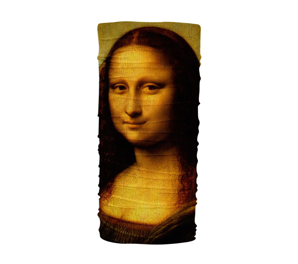 Mona Lisa Multifunctional UV Protection Headband