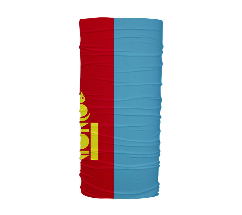 Mongolia Flag Multifunctional UV Protection Headband