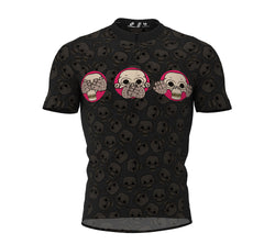 Monkey Head Cycling Jersey Short Sleeve for Men and Women
