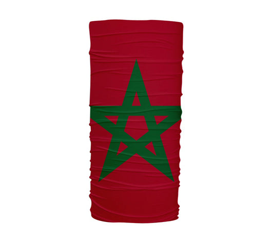 Morocco Flag Multifunctional UV Protection Headband