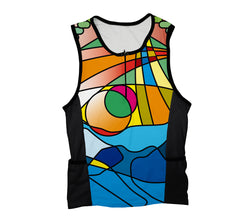 Mosaic Triathlon Top