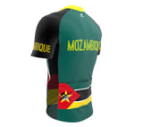 Mozambique  Full Zipper Bike Short Sleeve Cycling Jersey