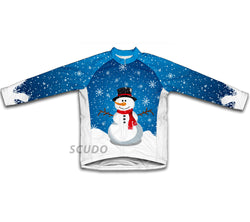 Mr Snowy Winter Thermal Cycling Jersey