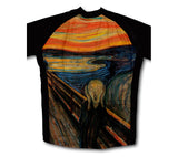 Munch - The Scream Short Sleeve Cycling Jersey for Men and Women