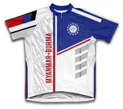 Myanmar-Burma ScudoPro Cycling Jersey for Men and Women