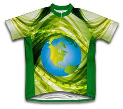Natural Flow Short Sleeve Cycling Jersey for Men and Women