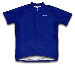 ScudoPro Navy Short Sleeve Cycling Jersey for Men and Women