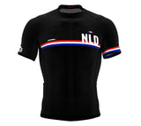 Netherlands Black CODE Short Sleeve Cycling PRO Jersey for Men and WomenNetherlands Black CODE Short Sleeve Cycling PRO Jersey for Men and Women