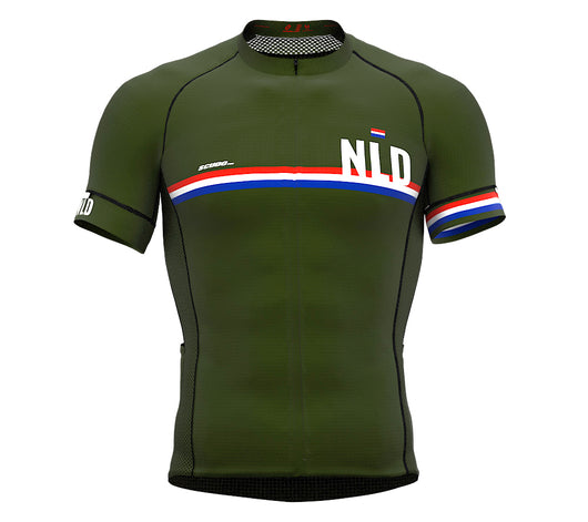 Netherlands Green CODE Short Sleeve Cycling PRO Jersey for Men and WomenNetherlands Green CODE Short Sleeve Cycling PRO Jersey for Men and Women