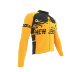 ScudoPro Pro Thermal Long Sleeve Cycling Jersey New Jersey USA state Icon landmark identity  | Men and Women