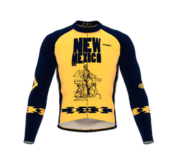 ScudoPro Pro Thermal Long Sleeve Cycling Jersey New Mexico USA state Icon landmark identity  | Men and Women