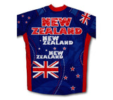 New Zealand Flag Winter Thermal Cycling Jersey