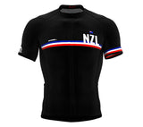 New Zealand Black CODE Short Sleeve Cycling PRO Jersey for Men and WomenNew Zealand Black CODE Short Sleeve Cycling PRO Jersey for Men and Women