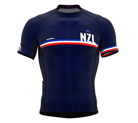 New Zealand Blue CODE Short Sleeve Cycling PRO Jersey for Men and WomenNew Zealand Blue CODE Short Sleeve Cycling PRO Jersey for Men and Women