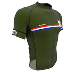 New Zealand Green CODE Short Sleeve Cycling PRO Jersey for Men and Women