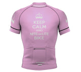 Nite Bike Pink Short Sleeve Cycling PRO Jersey for Men and Women