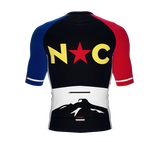 ScudoPro Pro-Elite Short Sleeve Cycling Jersey North Carolina USA State Icon landmark symbol identity  | Men and Women