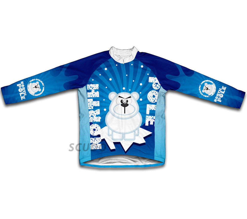 North Pole Grr Winter Thermal Cycling Jersey