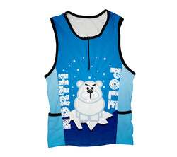 North Pole Grr Triathlon Top
