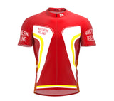 Northern Ireland Full Zipper Bike Short Sleeve Cycling Jersey