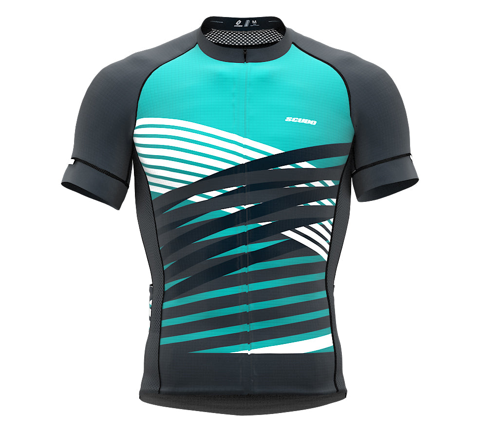 Nudius Gray Short Sleeve Cycling PRO Jersey