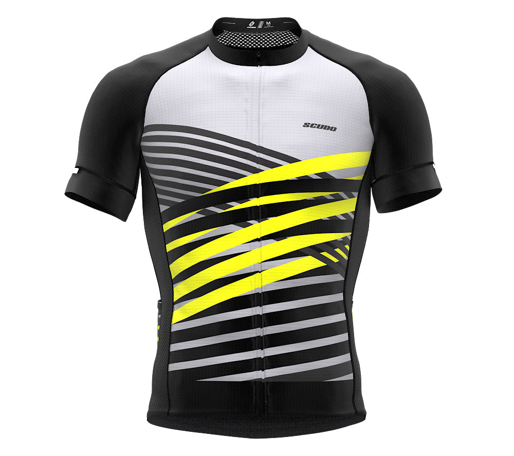 Nudius Green Short Sleeve Cycling PRO Jersey