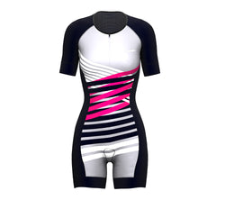 Nudius Pink Scudopro Cycling Skin Suit Short Sleeve for WomanNudius Pink Scudopro Cycling Skin Suit Short Sleeve for Woman