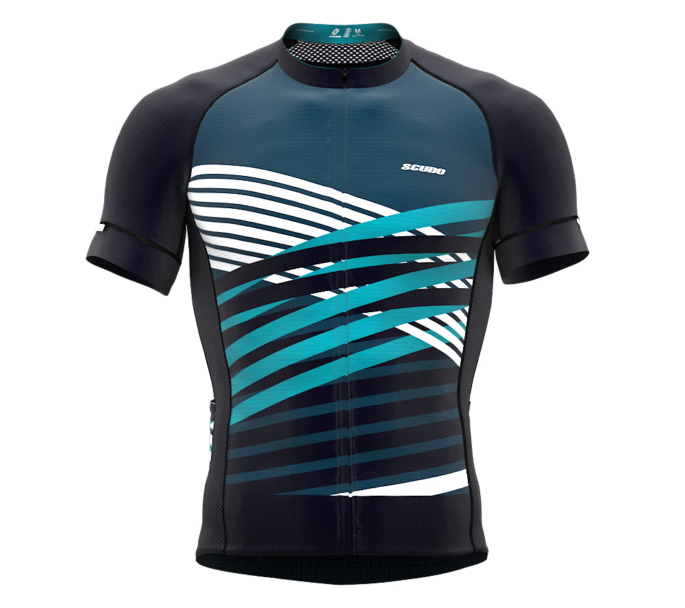 Nudius Teal Short Sleeve Cycling PRO Jersey