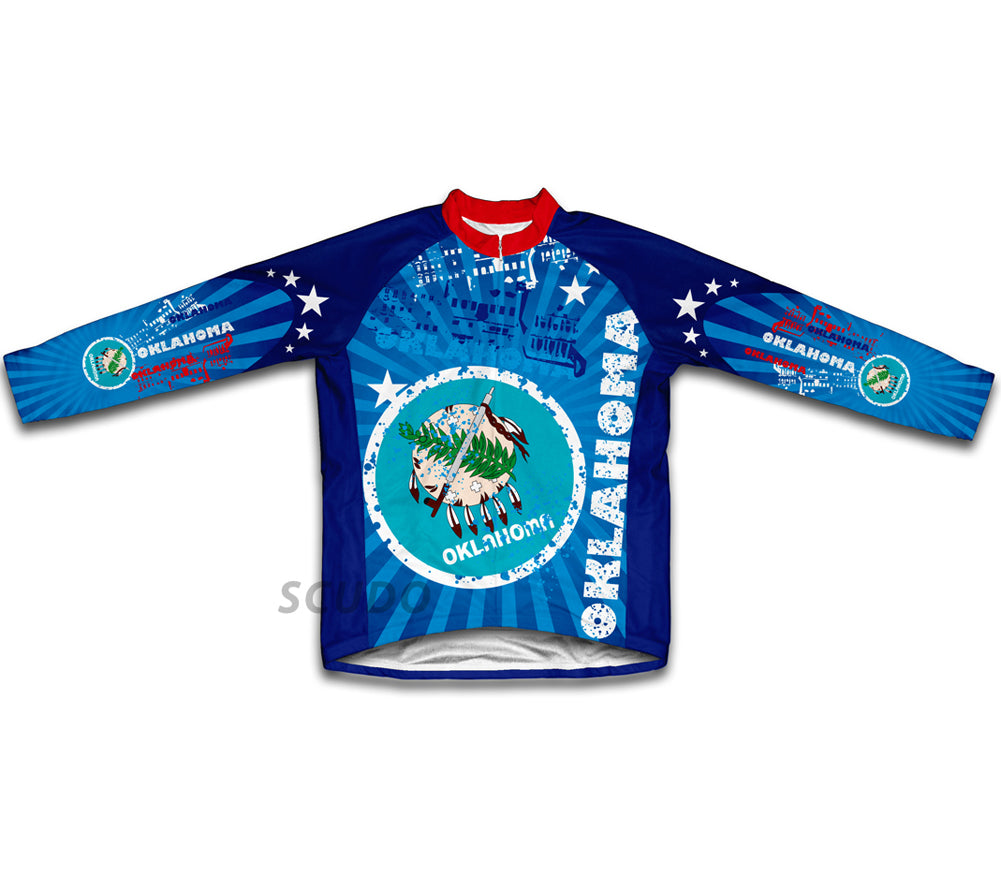 Oklahoma Winter Thermal Cycling Jersey
