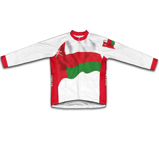 Oman Flag Winter Thermal Cycling Jersey