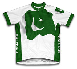 Pakistan Flag Cycling Jersey for Men and Women