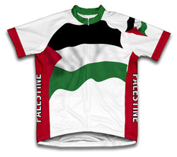 Palestine Flag Cycling Jersey for Men and Women