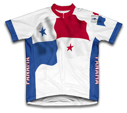 Panama Flag Cycling Jersey for Men and Women