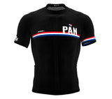 Panama Black CODE Short Sleeve Cycling PRO Jersey for Men and WomenPanama Black CODE Short Sleeve Cycling PRO Jersey for Men and Women