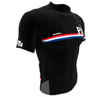 Panama Black CODE Short Sleeve Cycling PRO Jersey for Men and Women
