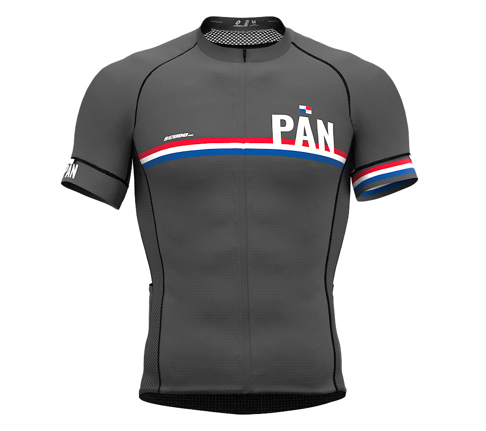 Panama Gray CODE Short Sleeve Cycling PRO Jersey for Men and WomenPanama Gray CODE Short Sleeve Cycling PRO Jersey for Men and Women