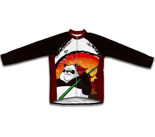 Panda Warrior Winter Thermal Cycling Jersey