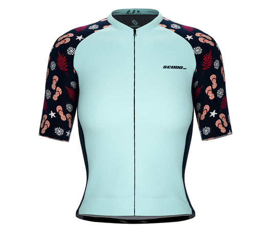 Scudopro Pro-Elite Short Sleeve Cycling Pro Fit Jersey Paradise for Women