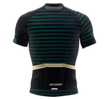 Pedaling Brown Short Sleeve Cycling PRO Jersey