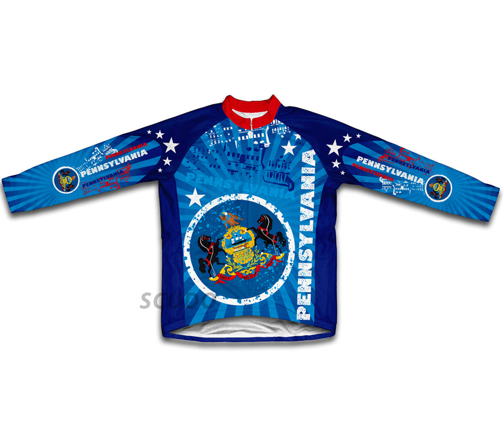 Pennsylvania Winter Thermal Cycling Jersey