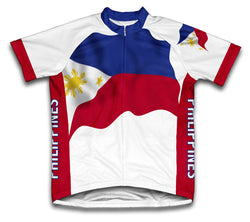 Philippines Flag Cycling Jersey for Men and Women