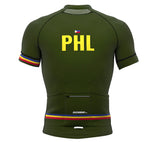 Philippines Green CODE Short Sleeve Cycling PRO Jersey for Men and Women