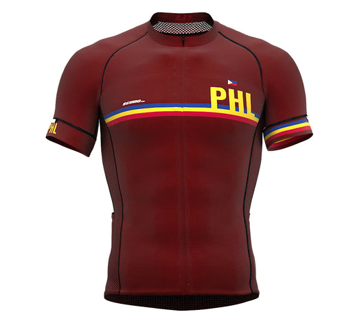 Philippines Vine CODE Short Sleeve Cycling PRO Jersey for Men and WomenPhilippines Vine CODE Short Sleeve Cycling PRO Jersey for Men and Women